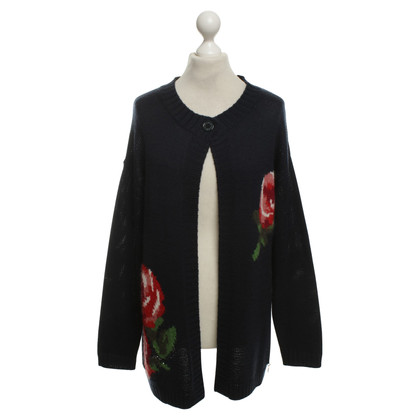 Moschino Love Cardigan in Blue
