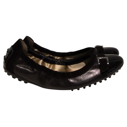 Tod's Ballerinas with patent leather Cap