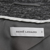 René Lezard Sportieve blazer in grijs