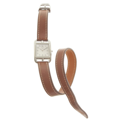 Hermès Watch with leather strap