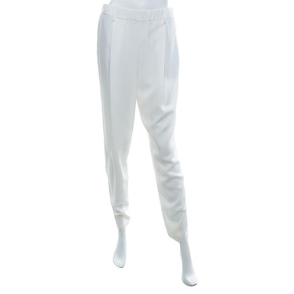 Brunello Cucinelli trousers in white
