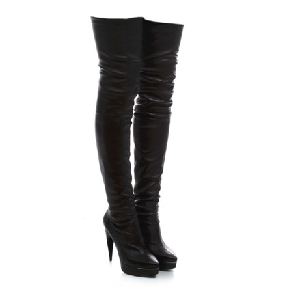 Lanvin Overknees in black