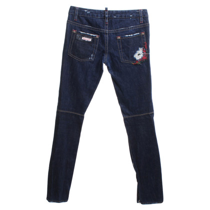 Dsquared2 Jeans pants in dark blue