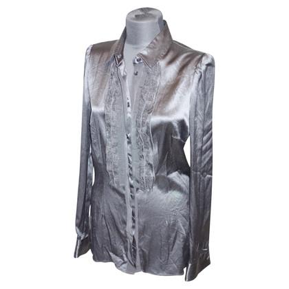 Dolce & Gabbana Zijden blouse met kant