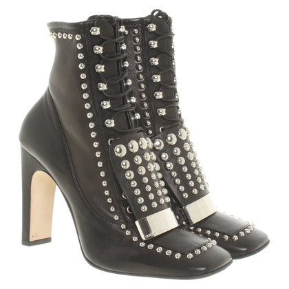 Sergio Rossi Ankle boots with rivets