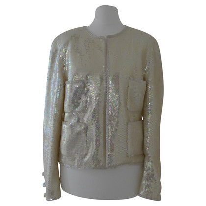 Chanel veste pailletée