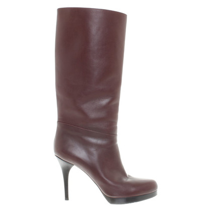 Balenciaga Heel boots in Bordeaux