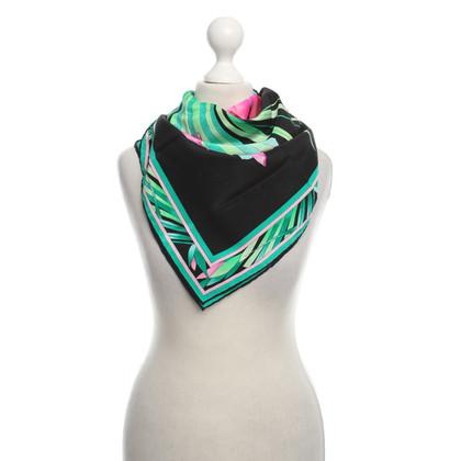 Leonard Silk scarf with floral print