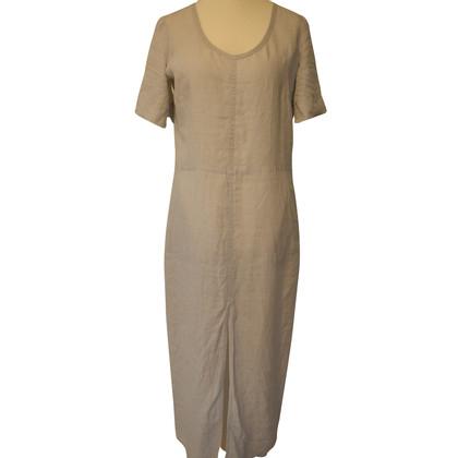Strenesse Blue Linen dress in light gray