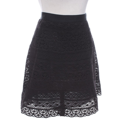 Jo Nu Fui  Lace skirt in black