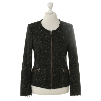Closed Heather jacket in black white