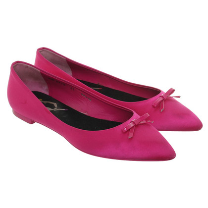 Bally Ballerine in fucsia