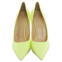 Giuseppe Zanotti pumps in lime green