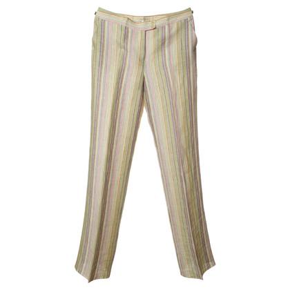Etro Leggings with stripe pattern