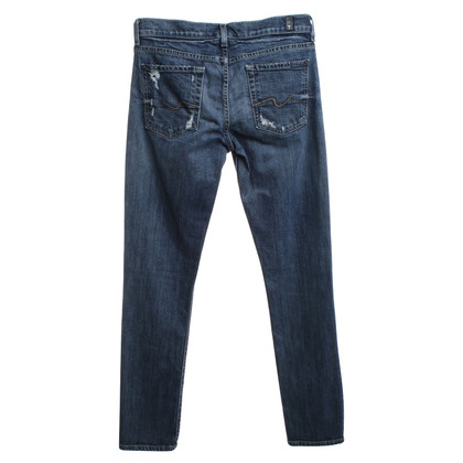 "7 For All Mankind Jeans ""Josefina"" in blauw"