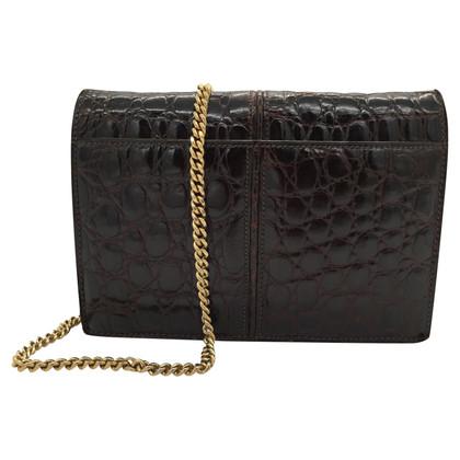 Céline Crocodile leather bag