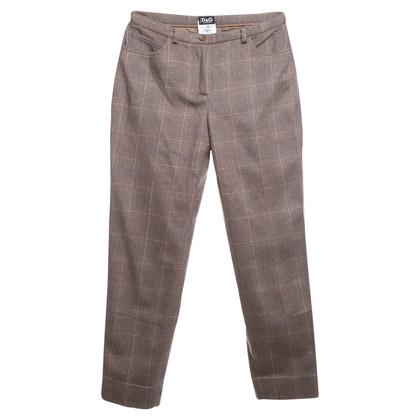 D&G Scheerwol broek beige