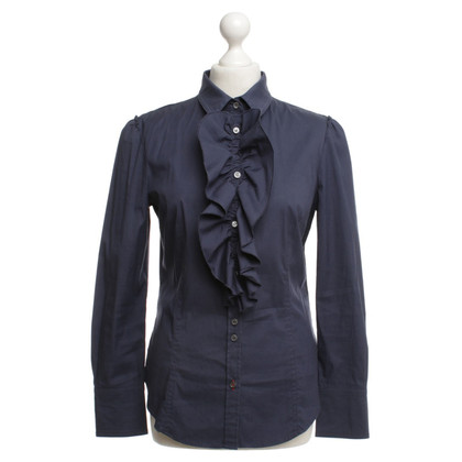 Marc Cain Blouse in donkerblauw