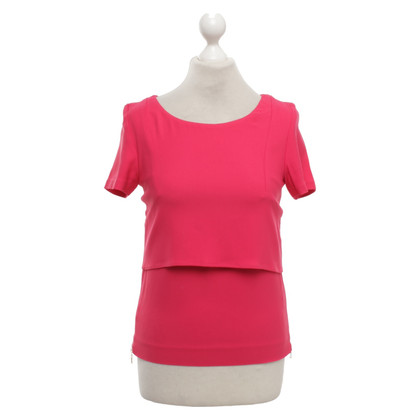 Other Designer Space blouse in fuchsia