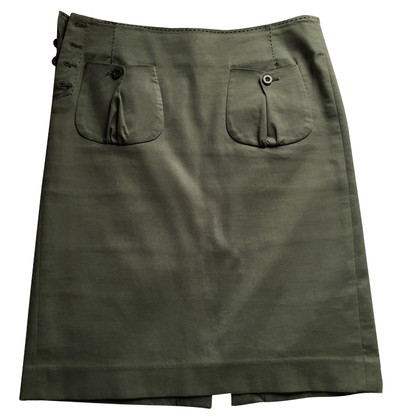 Hoss Intropia skirt in Army style
