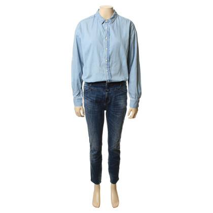 Closed Jeans-Overall in Blau