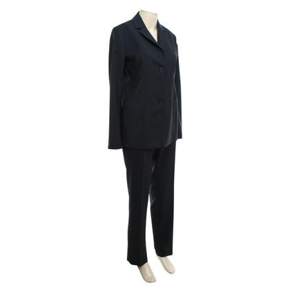 Jil Sander Wool suit in dunkelbau