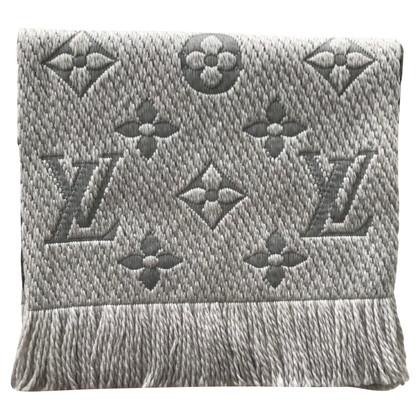 Louis Vuitton Logomania sjaal in parelgrijs
