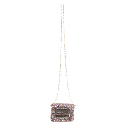 Jimmy Choo Shoulder bag with glitter