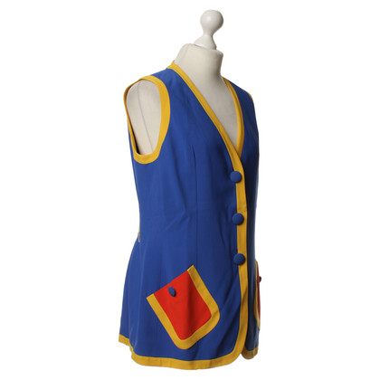 Moschino Vest in multi colored