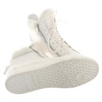 Giuseppe Zanotti Sneaker in white with fur