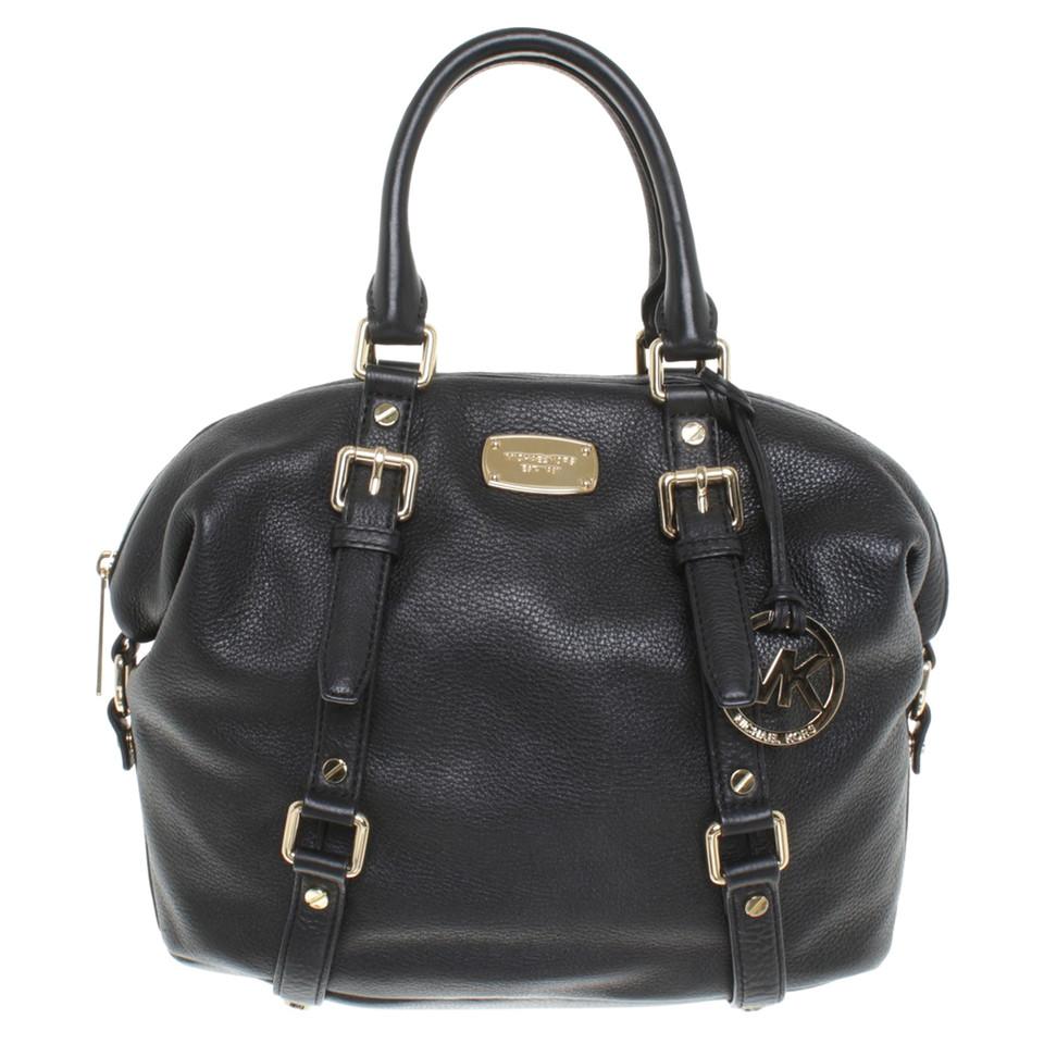 michael kors handtasche in schwarz second hand michael. Black Bedroom Furniture Sets. Home Design Ideas