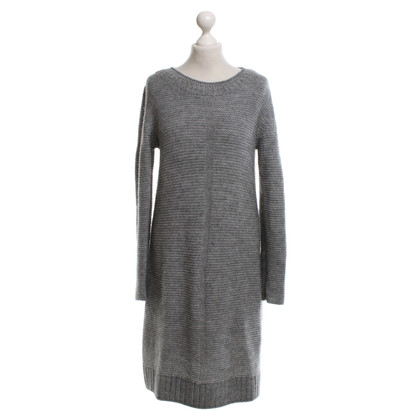 Marc Cain Embroidery dress in light gray
