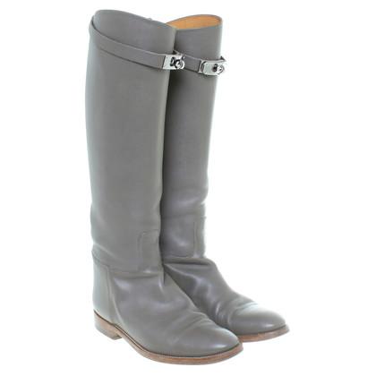 Hermès Boots in grey