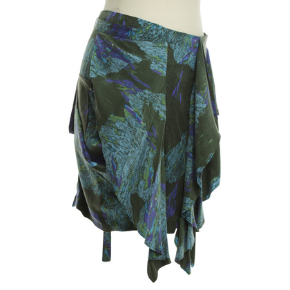 Edun Silk skirt with pattern