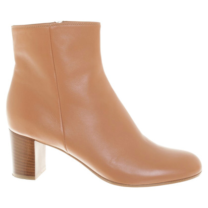 Gianvito Rossi Ankle boots in cognac