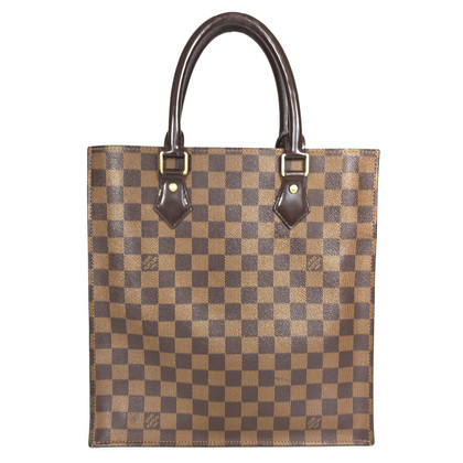 "Louis Vuitton ""Ca1d09e3 Plat PM Damier Ebene Canvas"""