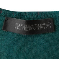 Ermanno Scervino Wool vest with jewelry