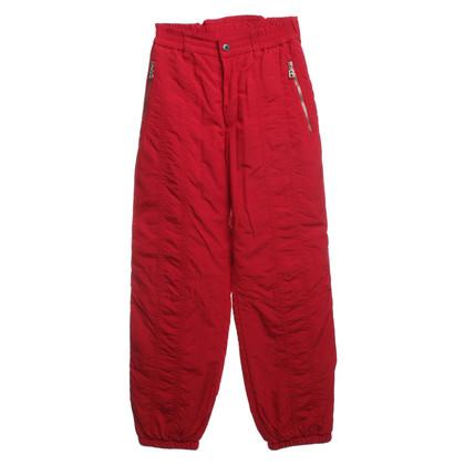 Bogner Pantaloni da sci in rosso