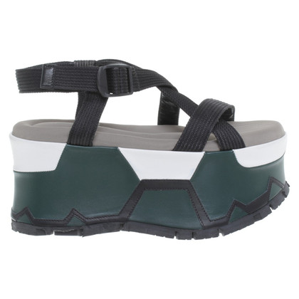 Marni sandali con plateau