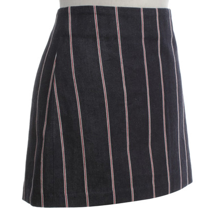 Alexander Wang Mini skirt with stripes