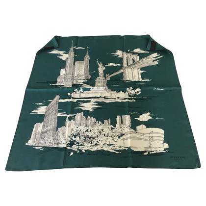 "Burberry Silk scarf ""Landmark New York"""