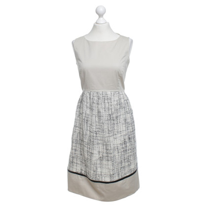Max & Co Summer dress in beige / white / black