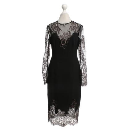Karen Millen Lace dress in bicolor
