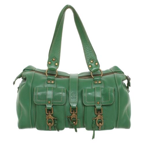 süß billig attraktiv und langlebig Rabatt bis zu 60% Bogner Handtasche aus Leder in Grün - Second Hand Bogner ...