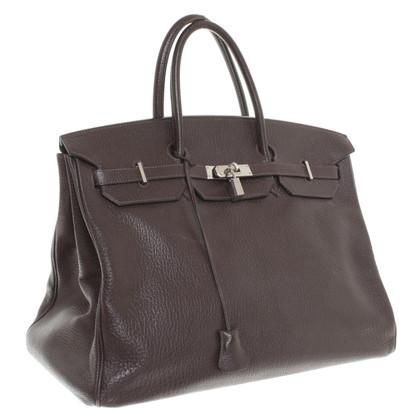 """Hermès """"Birkin Bag 40"""" van Chevre Mysore leer"""