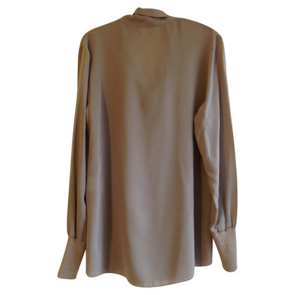 St. Emile Silk blouse with Schluppe