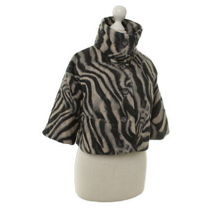 Marc Cain Cape mit Animal-Print