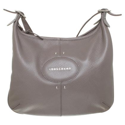 Longchamp Schoudertas in grijs