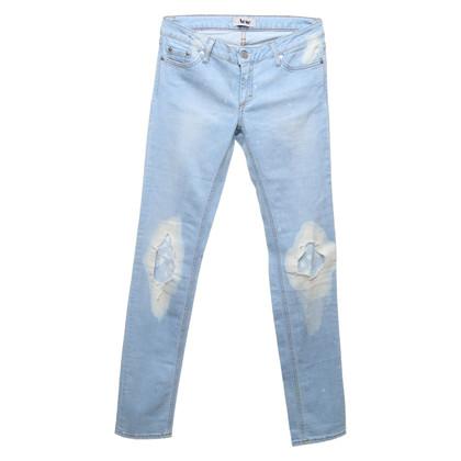 Acne Jeans in Hellblau