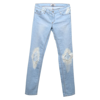 Acne Jeans in lichtblauw